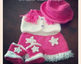 Baby Cowgirl Outfit - Made To Order