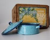 SPATTERWARE in Robins Egg Blue