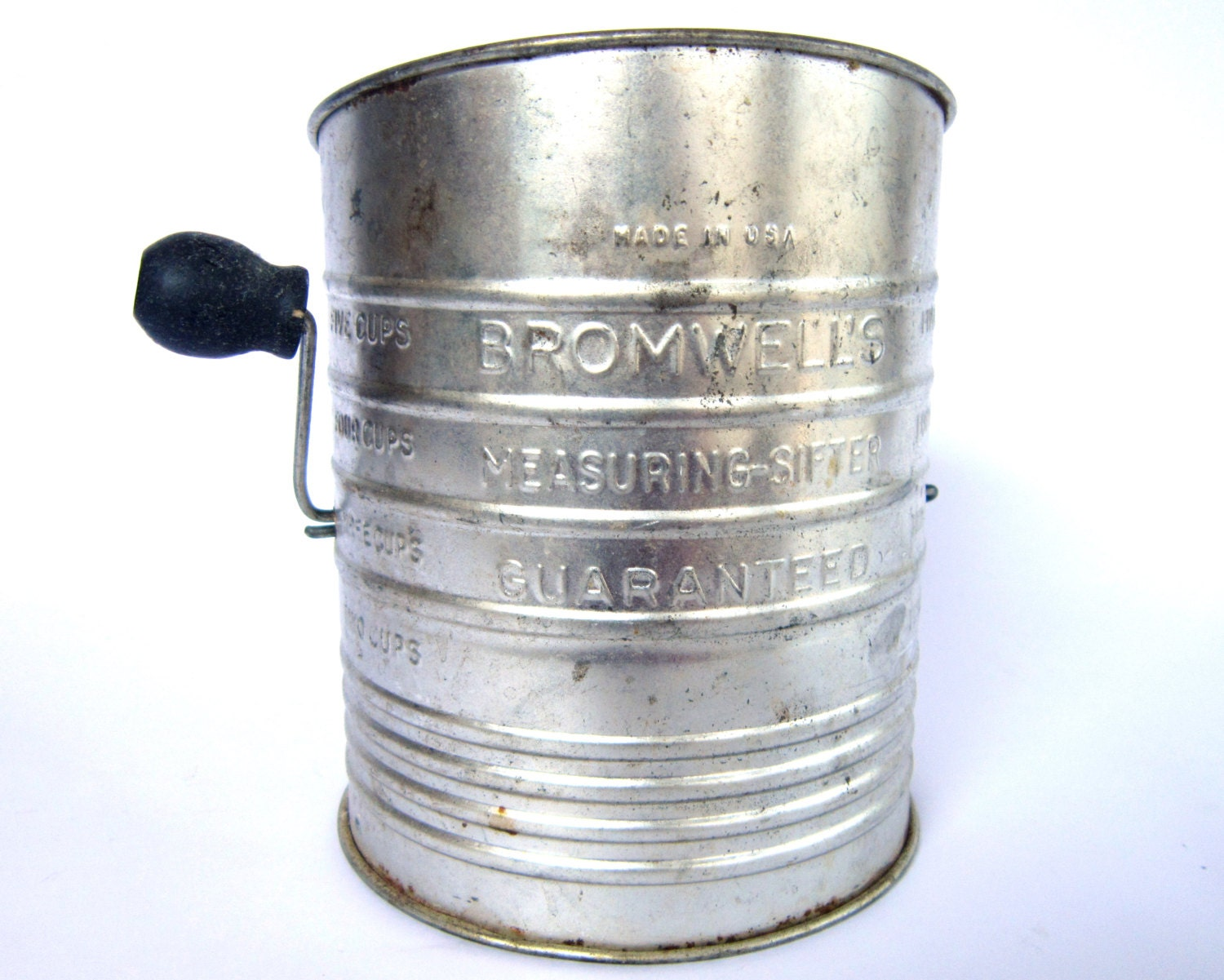 Vintage 1950 S Flour Sifter Bromwell S