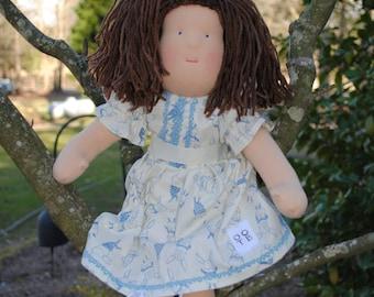 Olivia 18 inch waldorf doll
