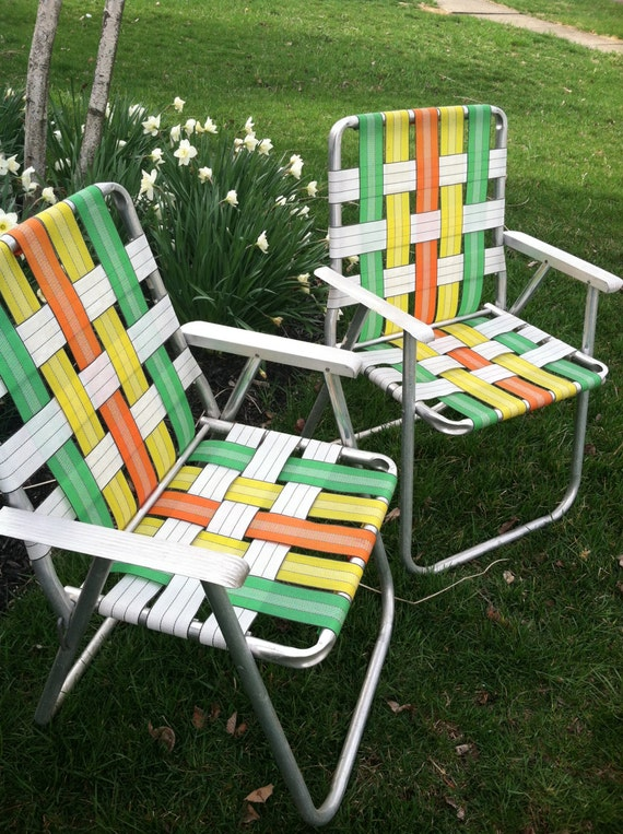 Reserved Listing For D Retro Folding Lawn By Zassystreasures