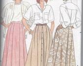 Butterick 4644 Skirt Size 14-16-18