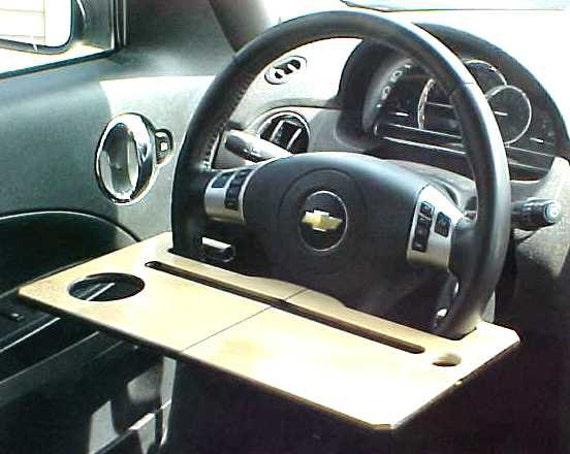 Car iPad - iPhone Stand / Laptop Desk / Steering Wheel Table