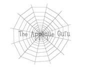 Spiderweb  --  Machine Applique Embroidery Design