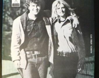 vintage magazine ... BMI The MUSIC Scene Mag cover Susan Terry Jacks POPPY Family  ...
