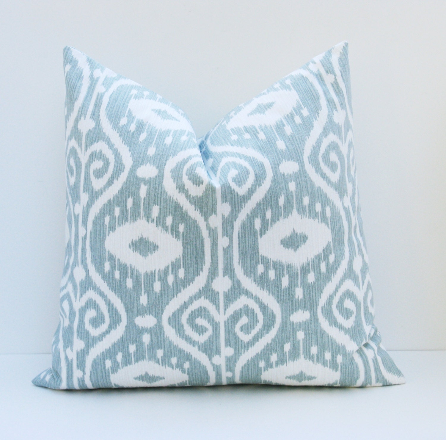 Decorative Pillow Covers 26x26 : Euro Pillow Sham ONE 26x26 Pillow Cover Blue Green by EastAndNest