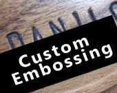 Custom Embossing