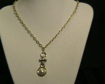 Pearl and Gold. Necklace.