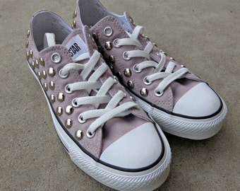 Studded Converse Low Top