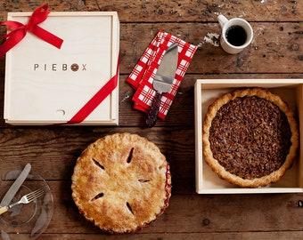 PieBox: Wooden Pie Carrier