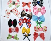 grab bag of 10 itty bitty bows