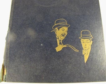 Vintage Book on Laurel and Hardy