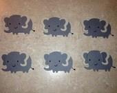 Elephant Die cuts (set of 6)