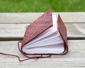 Handmade Leather Journal and Sketchbook - Personalized free - Fathers Day Gift