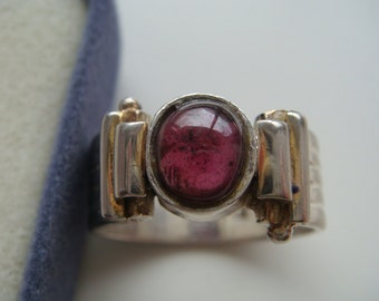 Silver Ring with Amethyst Ring