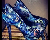 Batman Comic Heels