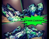 Green Lantern Comic wedges