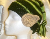 Crochet Child's Elf Hat With Ears