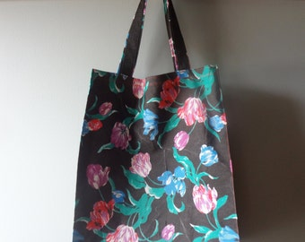 Tulip Fabric Reusable Tote Bag