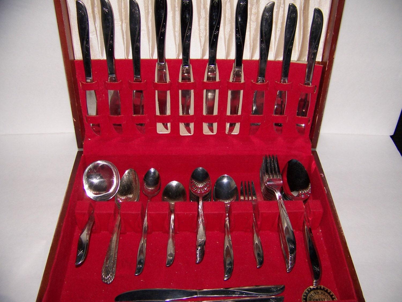 Vintage Stainless Steel Flatware Silverware Oneida By