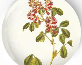 1800's Flowers melamine plate
