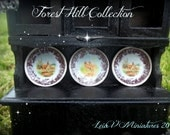"The Forest Hill Collection Plates-Set 2-""Hunting Season"" FIRST EDITION"