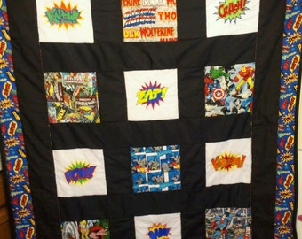 Super Hero Lap Quilt