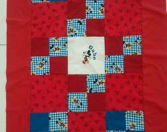 Mickey Mouse Baby/Toddler Quilt