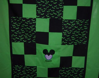 Mickey Mouse Head Baby/Toddler Quilt