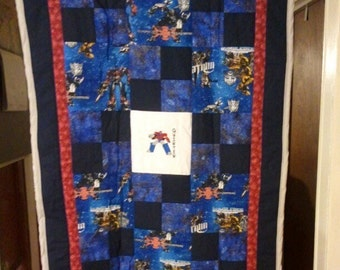 Transformer Baby/Toddler Quilt