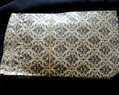 50 4x6 inch Damask Paper Merchandise Bags, Vintage syle Paper Party Bags, Gift Bags 4x6 inches, goodie treat bags