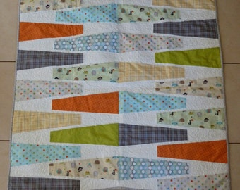 Wedge-ulous Baby Quilt - READY TO SHIP