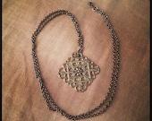 Lattice Work necklace