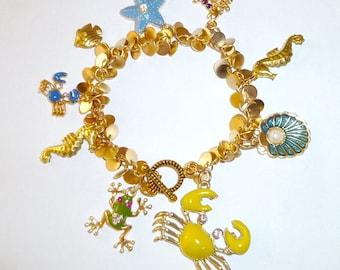 Sea creature bracelet