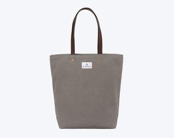 No. 9 - Slim Tote, Grey