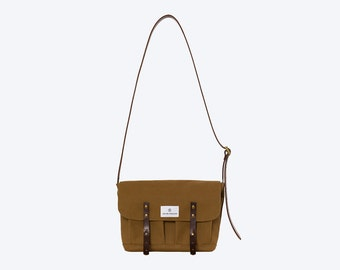 No. 10 - Satchel, Tobacco