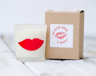 Sealed with a Kiss Candle 6 oz candle