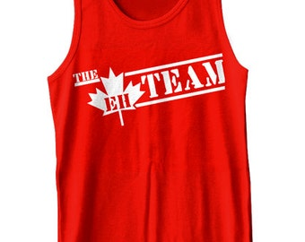 The Eh Team Tank Top Funny Canada Retro Humor Gag Joke Tank Tee Shirt Tshirt XS-2XL