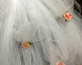 Flower Girl Dress Tutu with Pick ups