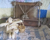 RESERVED FRO GINA / Vintage African Weaving Loom