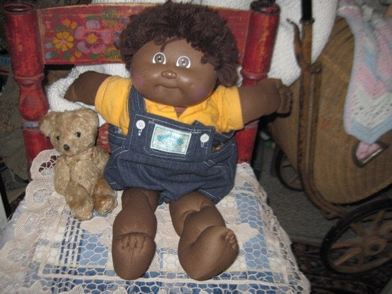 Cabbage Patch Doll African American Boy Doll So Cute