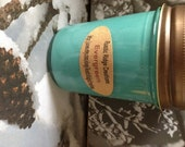 Soy Candle ,Evergreen, 8oz ,Hand Poured,Soycandle,soy candles,scented soy candles,natural soy candles,handmade soy candles,homemade,