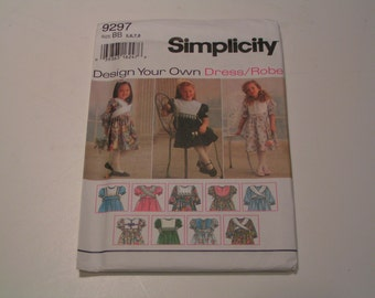 Simplicity Pattern 9297 design you own Dress Robe