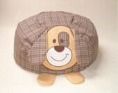 Child Bean Bag, Dog  Beanbag - Baby Shower Gift - HET-