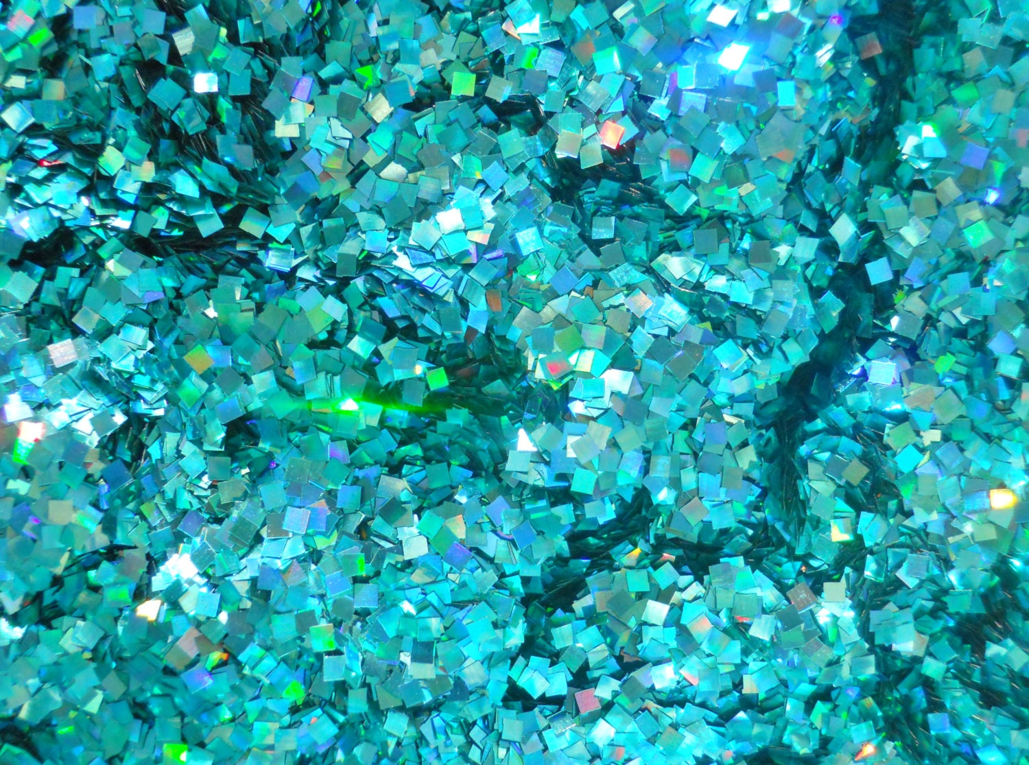Image Gallery Teal Glitter