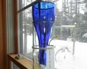 Cobalt Blue Planter and Vase