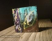 Picnic is an acrylic on wood original painting by artist Rachel Dickson.