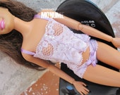 Barbie cloth :Lingeries set by Monume on Etsy