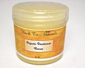 Natural Deodorant Cream - Organic Deodorant Cream with Coconut, Neem and Tea Tree Oil - Essential Oils Deodorant, Choose Your Scent - 6 oz