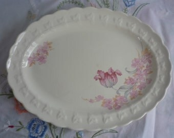 Shabby Chic Taylor Smith and Taylor Platter